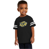 Toddler Black Jersey Tee-GU Bison