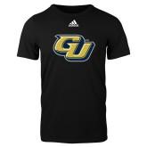Adidas Black Logo T Shirt-GU