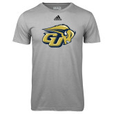Adidas Climalite Sport Grey Ultimate Performance Tee-GU Bison