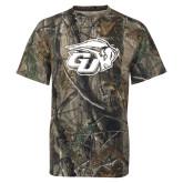 Realtree Camo T Shirt-GU Bison