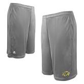 Russell Performance Grey 10 Inch Short w/Pockets-GU Bison