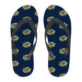 Full Color Flip Flops-GU Bison