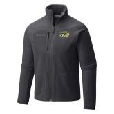 Columbia Full Zip Charcoal Fleece Jacket-GU Bison