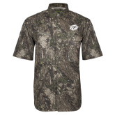 Camo Short Sleeve Performance Fishing Shirt-GU Bison