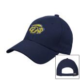 Navy Heavyweight Twill Pro Style Hat-GU Bison