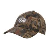Oilfield Camo Structured Hat-GU Bison