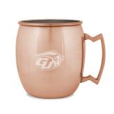 Copper Mug 16oz-GU Bison Engraved