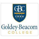 Extra Large Decal-Goldey Beacom College Vertical