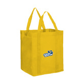 Non Woven Gold Grocery Tote-Goldey-Beacom Official Logo