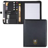 Carbon Fiber Tech Padfolio-GBC Shield
