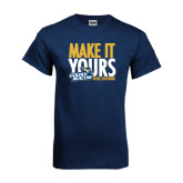 Navy T Shirt-Make It Yours