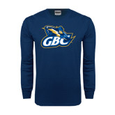 Navy Long Sleeve T Shirt-GBC