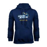 Navy Fleece Hoodie-Athletics