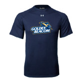 Under Armour Navy Tech Tee-Goldey-Beacom Official Logo