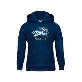 Youth Navy Fleece Hoodie-Athletics