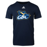 Adidas Navy Logo T Shirt-GBC