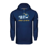 Under Armour Navy Performance Sweats Team Hoodie-Cross Country