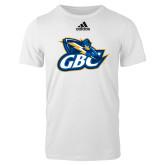Adidas White Logo T Shirt-GBC