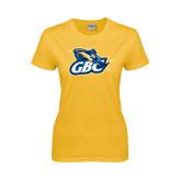 Ladies Gold T Shirt-GBC