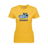 Ladies Gold T Shirt-Grandpa