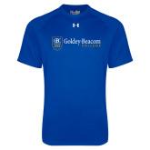 Under Armour Royal Tech Tee-Goldey Beacom College Horizontal
