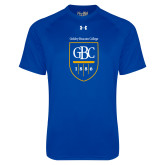 Under Armour Royal Tech Tee-GBC Shield with School Name