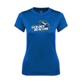 Ladies Syntrel Performance Royal Tee-Goldey-Beacom Official Logo
