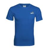 Royal T Shirt w/Pocket-Goldey-Beacom Official Logo