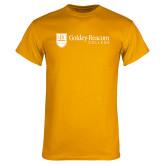 Gold T Shirt-Goldey Beacom College Horizontal