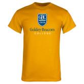 Gold T Shirt-Goldey Beacom College Vertical