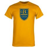 Gold T Shirt-GBC Shield