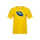 Youth Gold T Shirt-Lightning Man