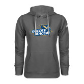 Adidas Climawarm Charcoal Team Issue Hoodie-Goldey-Beacom Official Logo