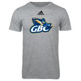 Adidas Sport Grey Logo T Shirt-GBC