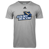 Adidas Climalite Sport Grey Ultimate Performance Tee-Goldey-Beacom Official Logo