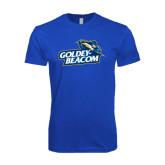 Next Level SoftStyle Royal T Shirt-Goldey-Beacom Official Logo