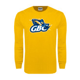 Gold Long Sleeve T Shirt-GBC