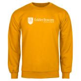 Gold Fleece Crew-Goldey Beacom College Horizontal