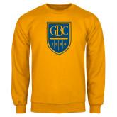 Gold Fleece Crew-GBC Shield