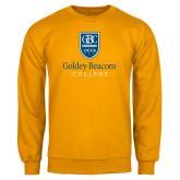 Gold Fleece Crew-Goldey Beacom College Vertical