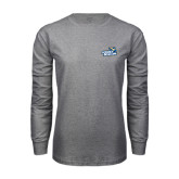 Grey Long Sleeve T Shirt-Goldey-Beacom Official Logo