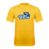 Performance Gold Tee-Goldey-Beacom Official Logo