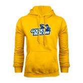 Gold Fleece Hoodie-Goldey-Beacom Official Logo