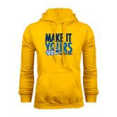 Gold Fleece Hoodie-Make It Yours