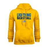 Gold Fleece Hoodie-Basketball Stacked
