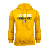 Gold Fleece Hoodie-Cross Country Stacked
