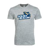 Next Level SoftStyle Heather Grey T Shirt-Goldey-Beacom Official Logo