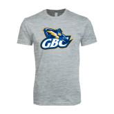Next Level SoftStyle Heather Grey T Shirt-GBC