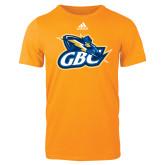 Adidas Gold Logo T Shirt-GBC