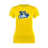 Ladies Syntrel Performance Gold Tee-GBC